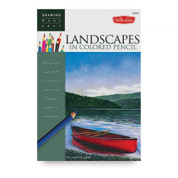 Walter Foster Drawing Made Easy: Landscapes in Colored Pencil (Paperback)