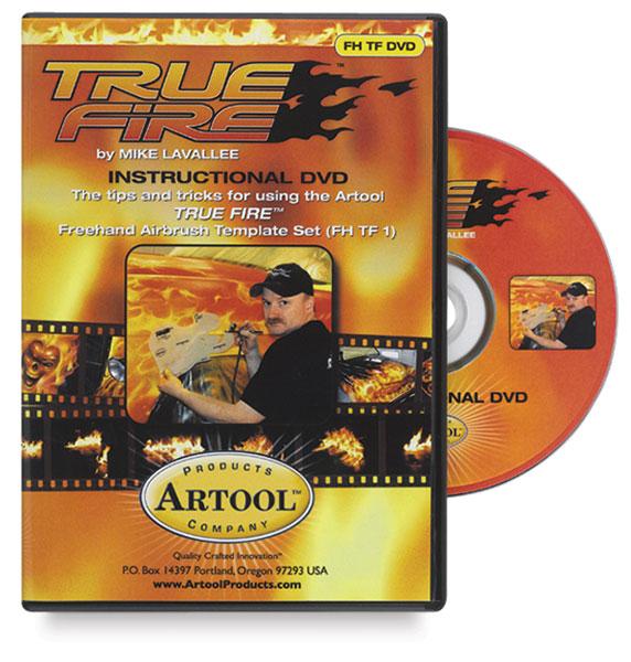 Artool Freehand Template DVD- True Fire, 37 min, DVD