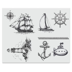 Mayco Designer Silkscreens - Nautical