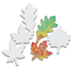 Leaf Shapes, Pack of 80