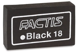 Soft Black Eraser