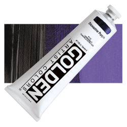 Golden Heavy Body Artist Acrylics - Dioxazine Purple, 5 oz Tube