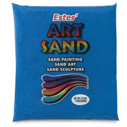Estes' Colored Art Sand - 25 lb, Royal Blue