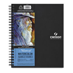 Canson Artist Series Watercolor Book - 8-1/2'' x 5-1/2'', 20 Sheets