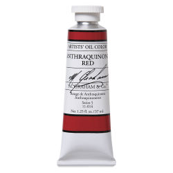 M. Graham Artists' Oil Color - Anthraquinone Red, 37 ml tube