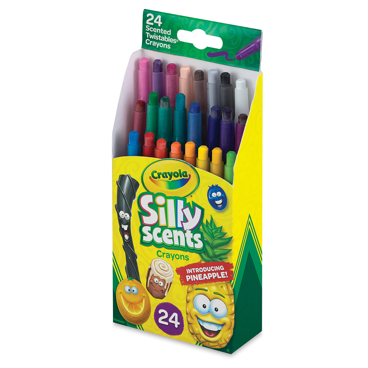 Crayola Silly Scents Mini Twistables Crayons - Set of 24