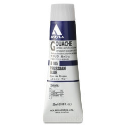 Holbein Acryla Gouache - Prussian Blue, 20 ml tube