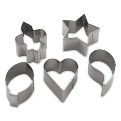 Activa Activ-Tools Clay Cutters, Designer, Set of 5