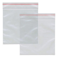 "Craft Medley Zipper Lock Bags - 4"" W x 4"" L, Package of 40"