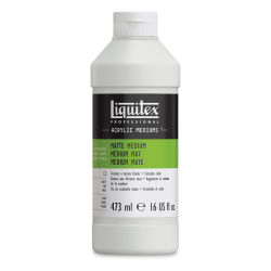 Liquitex Medium - Acrylic Medium, Matte, 16 oz bottle