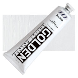 Golden Heavy Body Artist Acrylics - Zinc White, 5 oz Tube