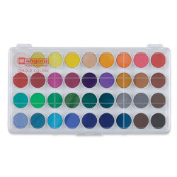 Talens Angora Watercolor Pan Set - Set of 36 colors, Pans. In package.