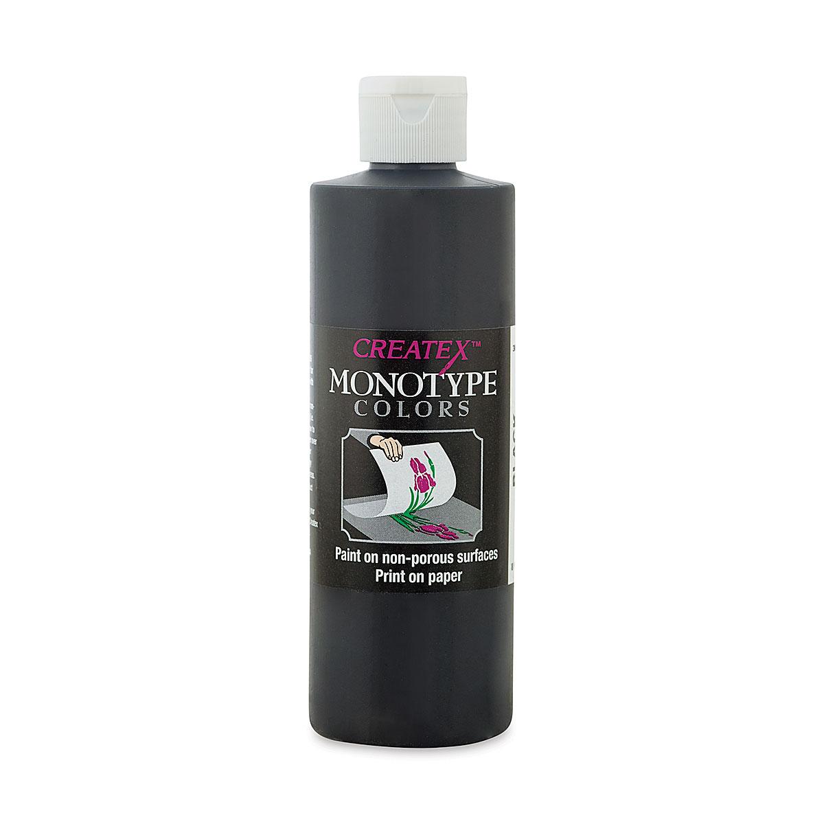 Createx Monotype Colors - Black, 8 oz bottle