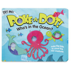 Melissa & Doug Poke-A-Dot Book - Who's in the Ocean