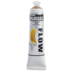 Matisse Flow Acrylic Transparent Yellow Oxide, 75 ml