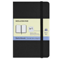 Moleskine Classic Notebook - Sketchbook, 5-1/2'' x 3-1/2'', 80 Pages