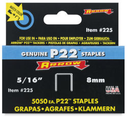P22 Staples, Pkg of 5000