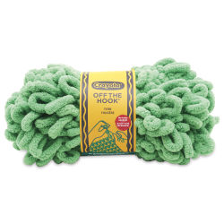 Lion Brand Crayola Off The Hook Yarn - Fern