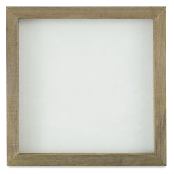 Hampton Art Mix the Media Framed Board - White Panel, 10'' x 10''