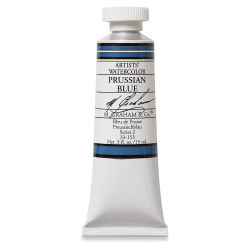 M. Graham Artists' Watercolor - Prussian Blue, 15 ml Tube