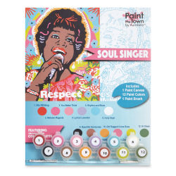 Paint The Town By Numbers Soul Singer Kit