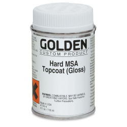 Golden Hard MSA Topcoat