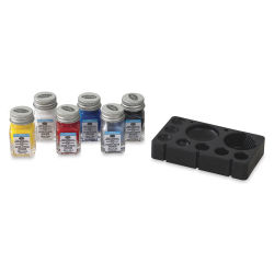 Testors Wooden Derby Car Acrylic Paint Sets - Primary Set of 6