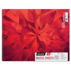 Koh-I-Noor Bristol Pad - Smooth, 19'' x 24'', 20 Sheets