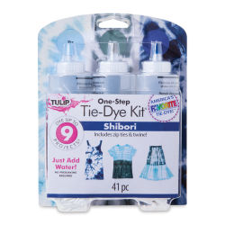 One-Step Tie-Dye Kit-3-Color Kit Shibori  Outside of Package