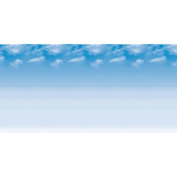 Fadeless Design Roll - 48'' x 50 ft, Wispy Clouds