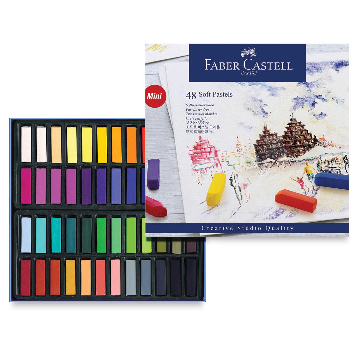 Faber Castell Creative Studio Goldfaber 24 Soft Pastels FC128224