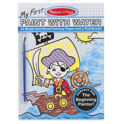 Melissa & Doug My First Paint with Water Activity Book - Blue
