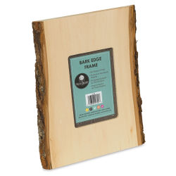 Walnut Hollow Basswood Frame w/Bark Edge - 5'' x 7'' photo