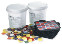 Jennifer's Mosaics Coaster Mold and Kit