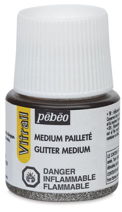 Pebeo Vitrail Glitter Medium - 45 ml bottle