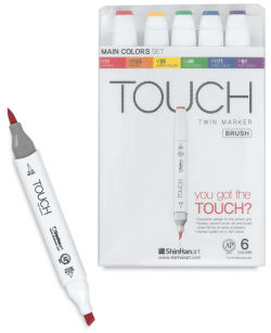 ShinHan Touch Twin Brush Markers and Sets