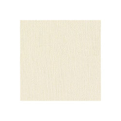American Crafts Textured Cardstock Pack - 12'' x 12'', Vanilla, 25 Sheets