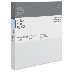 Winsor & Newton Professional Cotton Canvas - 8'' x 8'', Traditional Profile