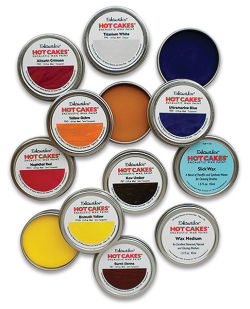 Enkaustikos Hot Cakes Encaustic Wax Paints - Academy Set, Set of 8 colors, 45 ml tins