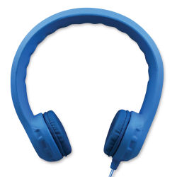 Hamilton Buhl Flex-PhonesXL Headphones - Blue, with Microphone