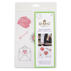 DMC Magic Paper Embroidery - Heart and Love