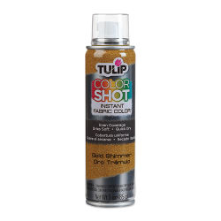 Tulip ColorShot Instant Fabric Color Spray - Metallic Gold