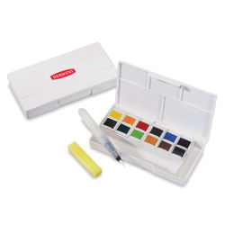 Derwent Inktense Paint Pan Travel Set, Palette 01
