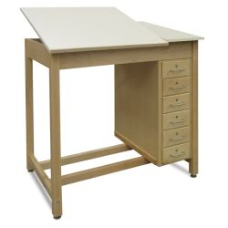 Adjustable Top Drawing Table