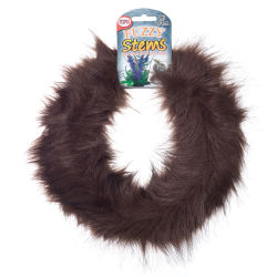 Pepperell Craft Fuzzy Stems  - Brown, 9 ft