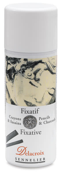 Delacroix Spray Fixative for Pencils & Charcoals