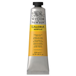 Winsor & Newton Galeria Flow Acrylics - Cadmium Yellow Deep Hue, 200 ml tube