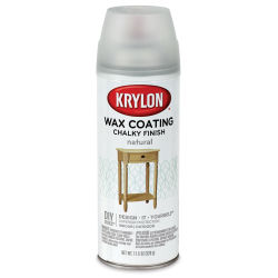 Krylon Chalky Finish Spray Paint - Finishing Wax, Natural