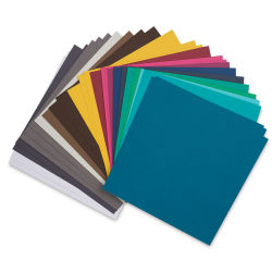 AC Cardstock Papers - 12'' x 12'', 60 Sheets, Jewel Colors
