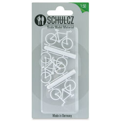 Schulcz Scale Model Vehicles - Bicycles, Pkg of 4, 1:50, 1/4""